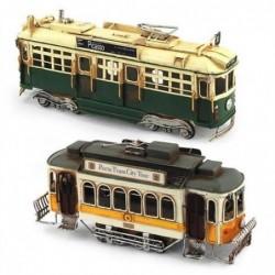 Figura Metalica Tren Tranvia Surtido (1 unidad) 28 cm