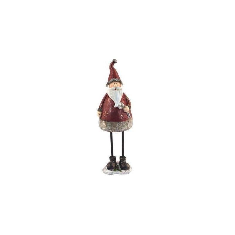 Figura Resina Papa Noel 29 cm