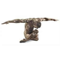 Figura Resina Hombre Desnudo Grande 136 cm