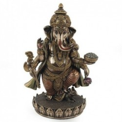 Figura Resina Ganesha 19 cm