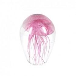 Pisapapeles Medusa Rosa 9 cm Brilla en la Noche
