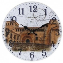 Reloj De Pared Santillana Del Mar 34 cm