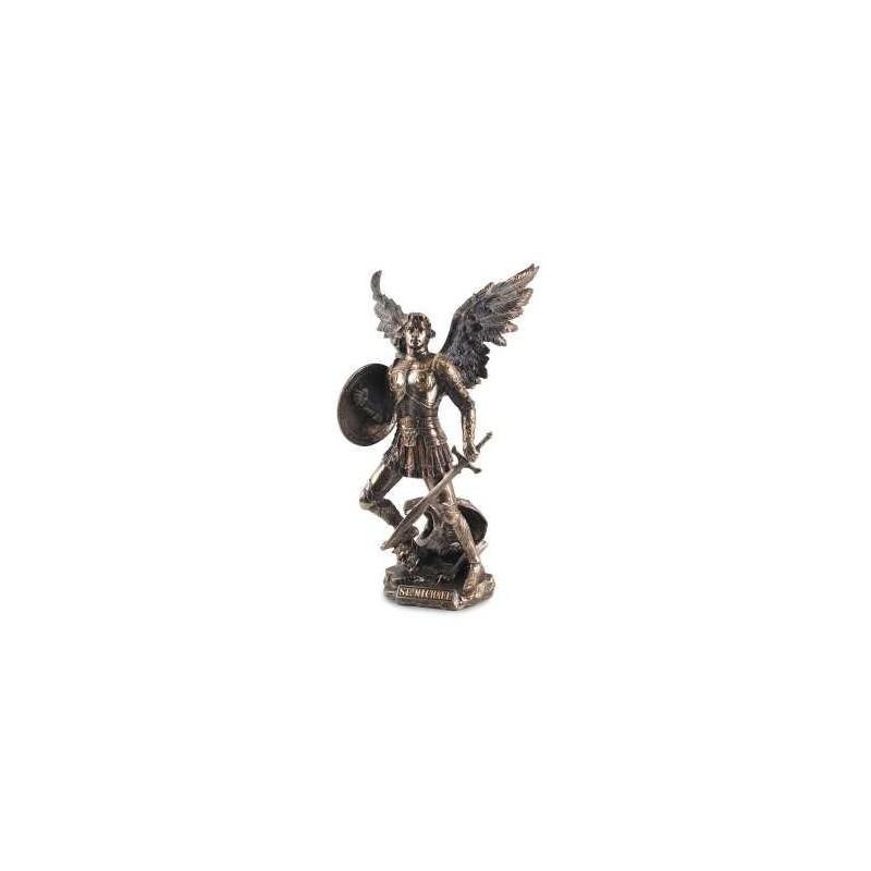 Figura Resina Saint Michael 33 Cm