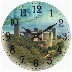 Reloj De Pared 34 cm Mallorca
