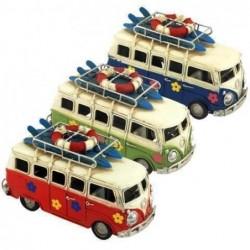 Figura Metal Autobus (1 unidad) 17 cm