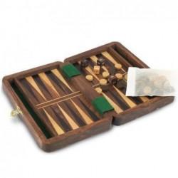 Juego Backgammon Madera