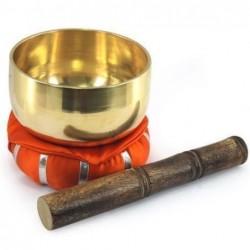 Bowl Tibetano con Cojon Rojo 12 cm
