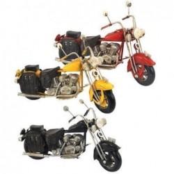 Figura  Metal Moto Harley (1 unidad) 19 cm