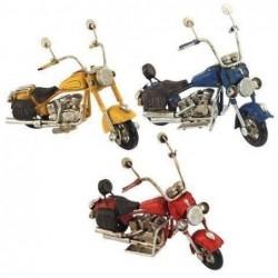 Figura  Metal Moto Harley (1 unidad) 11 cm