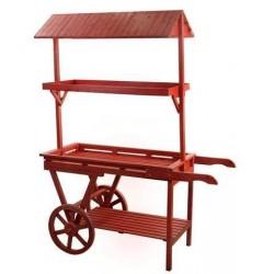 Mueble Estanteria Rojo 175x133 cm