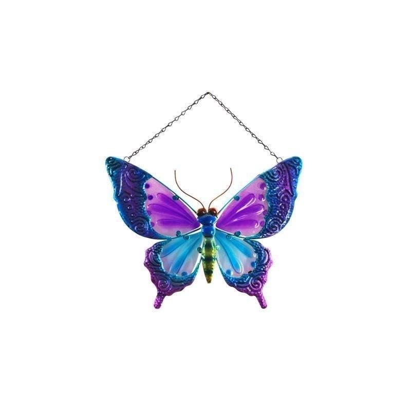 Figura Colgar Mariposa Colores 40 cm