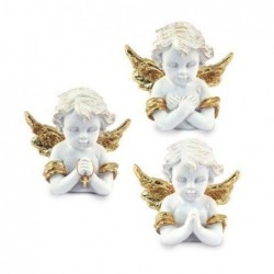 Figura Resina Angel Dorado ( 1 unidad) 6 cm