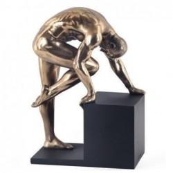 Figura Resina Hombre Desnudo 20 cm