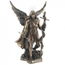Figura Resina Clasica Arcangel San Gabriel 24 cm