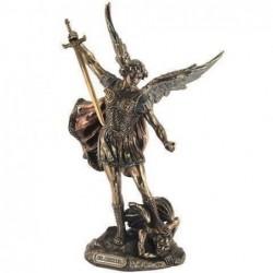 Figura Resina Clasica San Miguel 28 cm