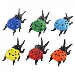 Figura x6 Escarabajos Cristal 6 cm