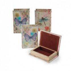Caja Libro x3 Modelos 13x9 cm
