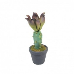 Figura Cactus Decorativa Polietileno 19 cm