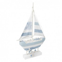Figura Decorativa Barco Luces 55 cm