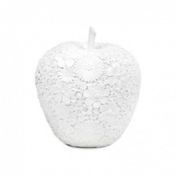 Figura Decorativa Manzana Resina 12 cm