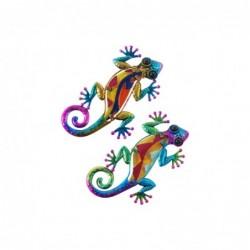 Figura Lagarto x2 Mini 15 cm