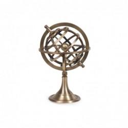 Figura Laton Esfera Armillary 18 cm