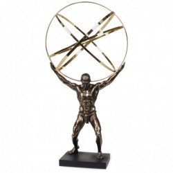 Figura Resina Atlas 50 cm