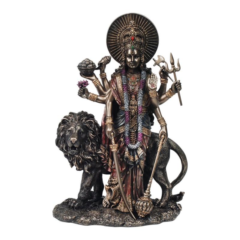 Figura Resina Budista Durga 28 cm