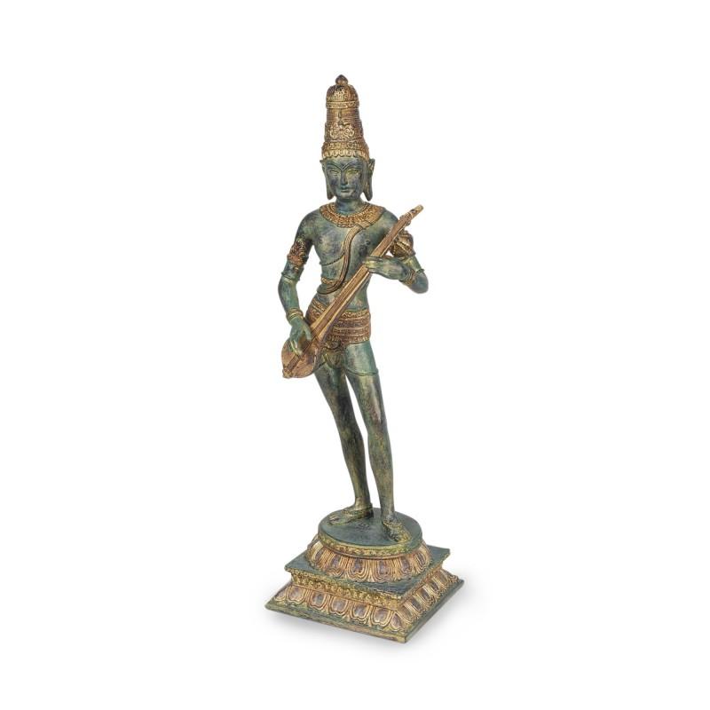 Figura Resina Clasica Shiva 40 cm