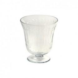Jarron Cristal Decorado 13 cm