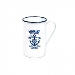 Mug Blanco Marine Retro 11 cm