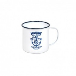 Mug Blanco Marine Retro 13 cm