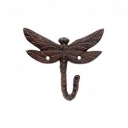 Percha Pared Libelula Hierro 14 cm