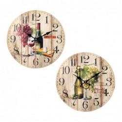 Reloj Pared Cocina Surtido (1 unidad) 34 cm