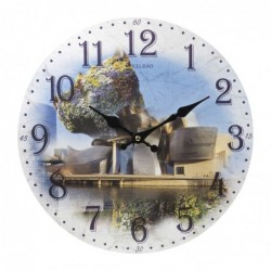 Reloj Pared Guggenheim 34 cm