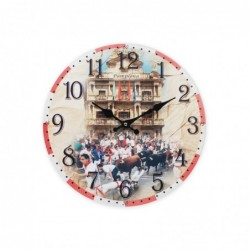 Reloj Pared Pamplona 34 cm