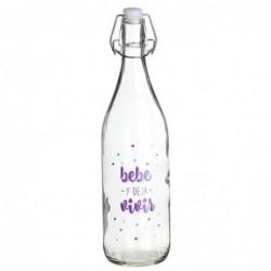 Botella Cristal 1l Bebe