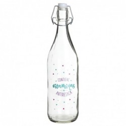 Botella Cristal 1l Vitaminas