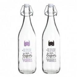 Botella Cristal x2 Heroes 1Lit
