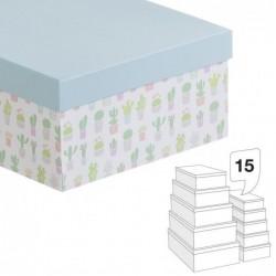 Caja Carton Juego 15 unidades