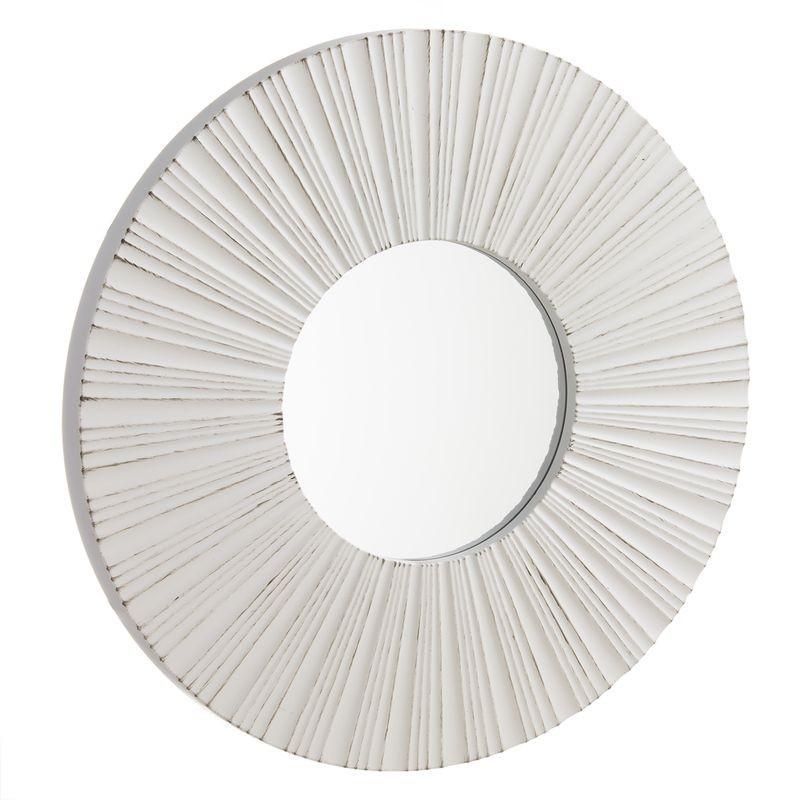 Espejo Pared Blanco 39 cm