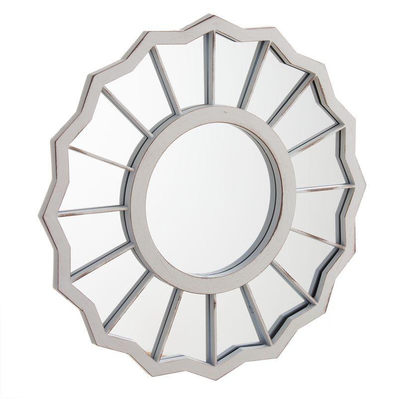 Espejo Pared Crema 39 cm