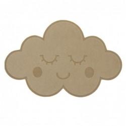 Felpudo Antideslizante Nube 60 cm