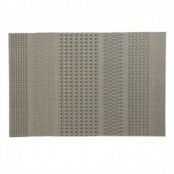 Mantel Individual Malla Efecto Metal 45 cm