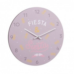 Reloj Pared Fiesta 34 cm