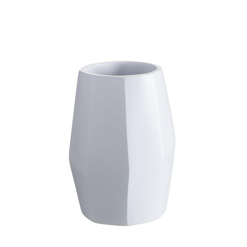 Vaso Baño Blanco Diamond 10 cm