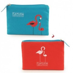 Monedero Mujer Flamingo 20 cm