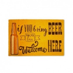 Felpudo Antideslizante Beer 60x40 cm