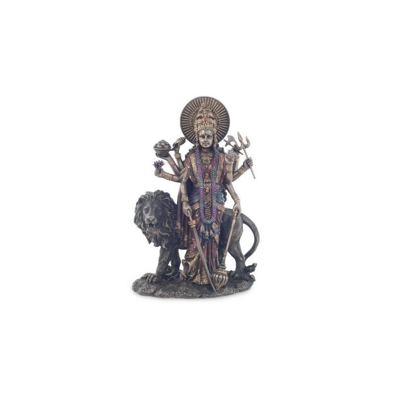 Figura Budista Durga- Madre Rey Hindu