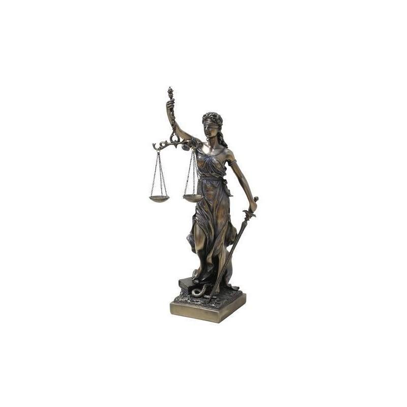 Figura Diosa de La Justicia 33 cm